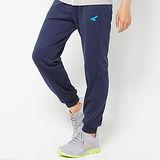 AIRWALK -舒適休閒針織長褲- 藍