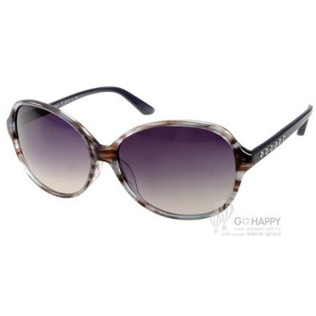 agnes b.太陽眼鏡 簡約百搭款(棕紋灰) #AB2821 KL