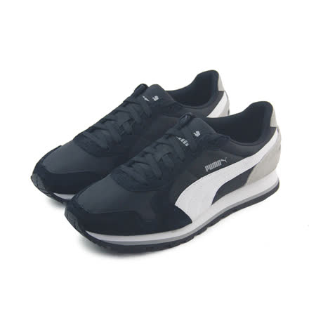 (男女)PUMA ST RUNNER NL 休閒鞋 黑/白/灰-35673817