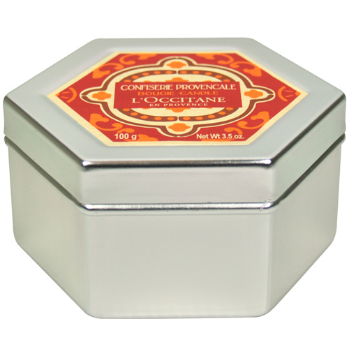 L'OCCITANE歐舒丹 蜜餞果子香氛蠟燭(100g) 專櫃正品