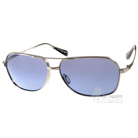 OLIVER PEOPLES太陽眼鏡 復古飛行款(銀-透黑) #CHASER 51354U