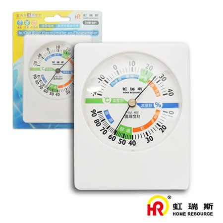 虹瑞斯 HomeResource 室內外溫濕度計 THM-001