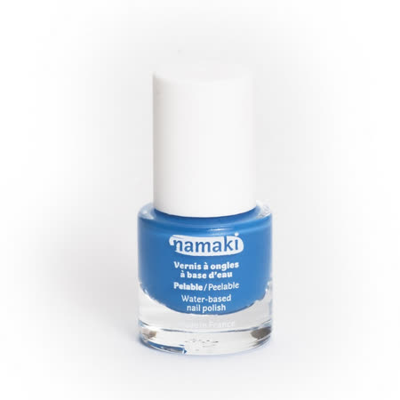 法國namaki 幼兒專用可撕式水性指甲油-海洋藍