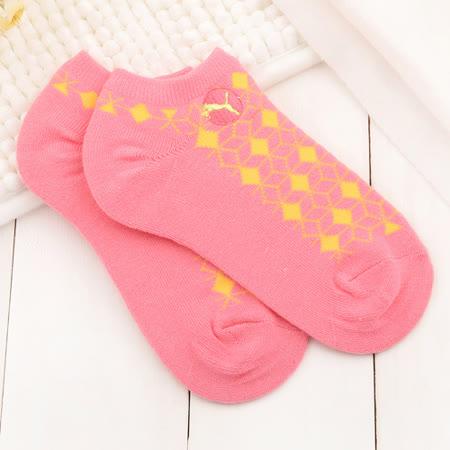 PUMA 兒童 蜂巢腳踝襪 PU90654303-桃-GI0352
