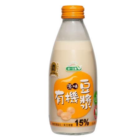 [統一生機]有機原味豆漿(箱)(245ml*24瓶)