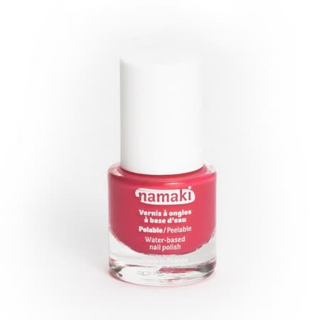 法國namaki 幼兒專用可撕式水性指甲油-珊瑚紅
