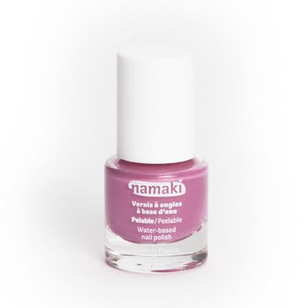 法國namaki 幼兒專用可撕式水性指甲油-玫瑰粉