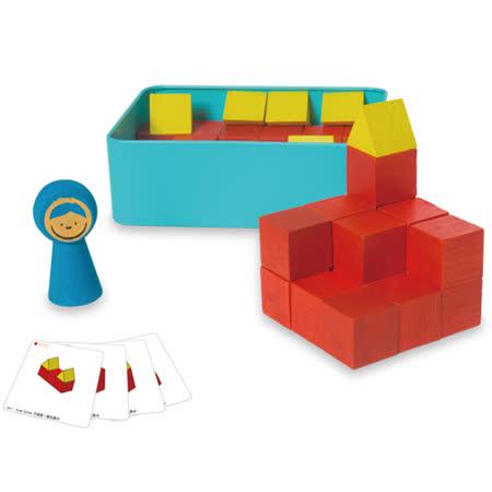【小康軒多元學習教具】操作系列-方塊堆一堆 6810200190