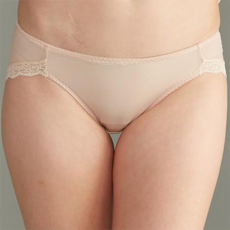 【華歌爾】輕柔細緻M-LL低腰三角褲(沙礫褐)