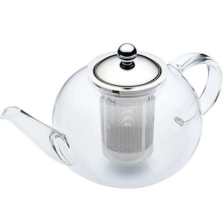 《KitchenCraft》晶透濾茶壺(1.4L)