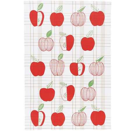 《NOW》餐廚布巾(蘋果格紋)