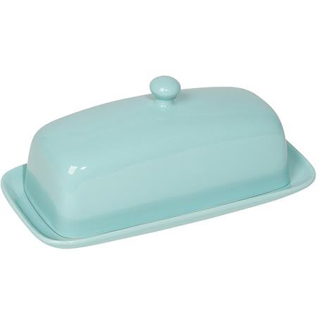 《NOW》長方附蓋奶油盤(藍)
