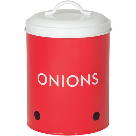 《NOW》洋蔥透氣收納罐(紅)