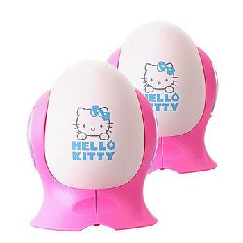 Hello Kitty 水玻璃陶瓷除濕蛋-2入 (E-200KT)