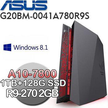 ASUS G20BM-0041A780R9S(A10-7800/1TB+128GSSD/R9-270 2G) 桌上型迷你電競電腦