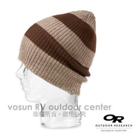 【美國 Outdoor Research】Knotty Beanie 100%美麗諾保暖雙面羊毛帽(僅98g)抗風休閒帽.遮耳帽.毛線帽/保暖.質輕柔軟.透氣/86600 卡其