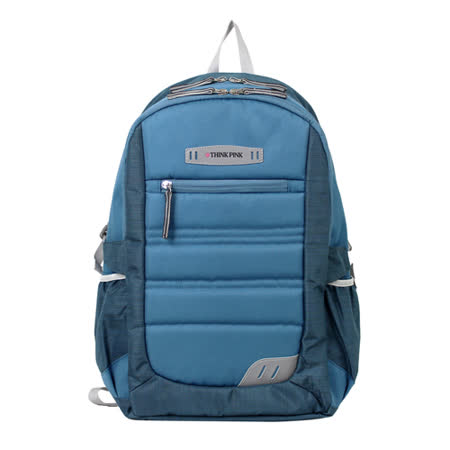 【THINK PINK】極緻輕量系列 明亮層次 後背包(淺藍)