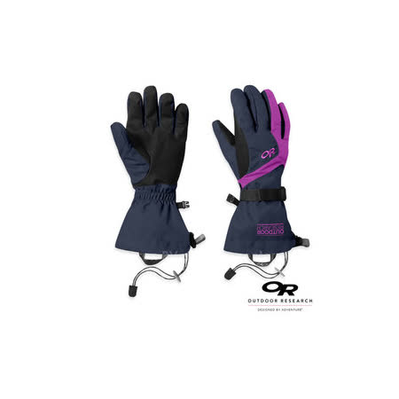 【Outdoor Research】女款 ADRENALINE GLOVES 防水透氣保暖手套/防風.止滑.耐磨.適機車.自行車.賞雪.滑雪.登山_紫 71270