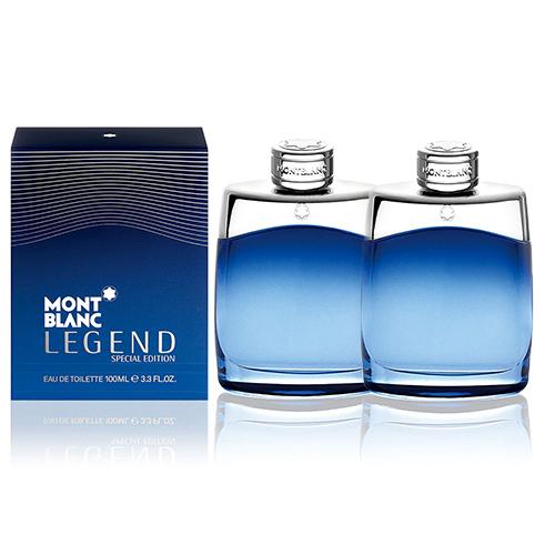 【買一送一】MONTBLANC 萬寶龍傳奇藍調經典男性淡香水限量版 100ml