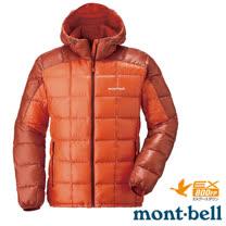 【日本 MONT-BELL 】男款 800FP U.L.Guide 超輕羽絨連帽外套/輕量防風夾克.禦寒大衣_橘 1101464