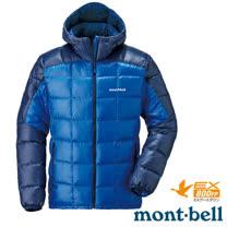 【日本 MONT-BELL 】男款 800FP U.L.Guide 超輕羽絨連帽外套/輕量防風夾克.禦寒大衣_藍 1101464