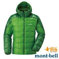 【日本 MONT-BELL】男款 800FP U.L.Guide 超輕羽絨連帽外套/輕量防風夾克.禦寒大衣_綠 1101464