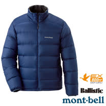【日本 MONT-BELL 】男款 800FP Light Alpine 輕量羽絨外套/夾克.輕量防風夾克.禦寒大衣_靛藍 1101428