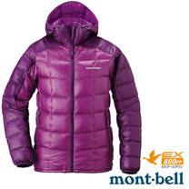 【日本 MONT-BELL 】女款 800FP 超輕保暖羽絨夾克/Superior 鵝絨外套.輕量防風夾克.禦寒大衣_桃紫/紫 1101465