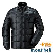 【日本 MONT-BELL 】男款 800FP 超輕保暖羽絨夾克/Superior 鵝絨外套.輕量防風夾克.禦寒大衣_黑 1101466