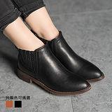 《JOYCE》 時尚百搭皮革短靴