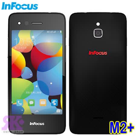 InFocus M2+ 4.2吋四核心亞太版智慧手機-贈原廠雨絲紋皮套+保貼+原廠耳機