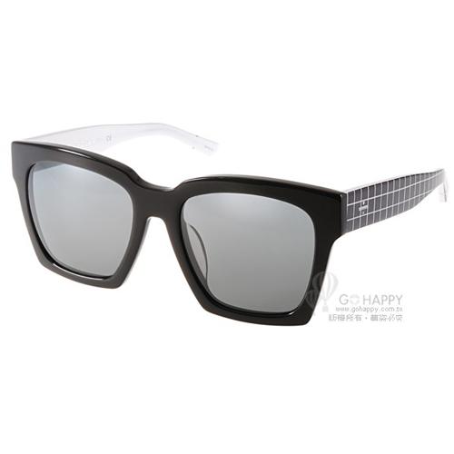 BLANC&ECLARE太陽眼鏡 城市系列-紐約(黑-白) #NEW YORK CB