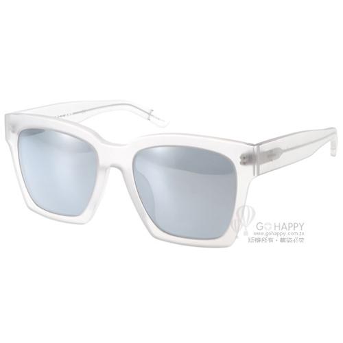 BLANC&ECLARE太陽眼鏡 城市系列-紐約(霧面透明) #NEW YORK MT