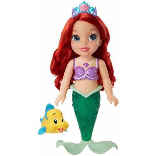 ~Disney 迪士尼~閃耀艾麗兒聲光戲水娃娃
