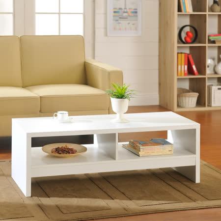 【Yomei】經典設計優雅大茶几桌/邊桌(白色)