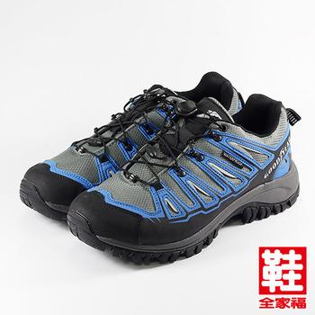 (男) GOODYEAR 多功能戶外休閒鞋 灰藍 固特異 鞋全家福