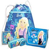 芭比Barbie 快樂水手束口袋文具超值組