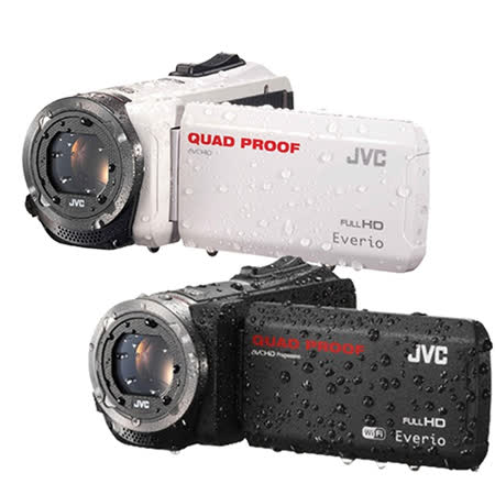 JVC Everio GZ-R300 4防攝影機(原廠公司貨) 贈送 32G記憶卡+原廠隨身攝影包+大吹球+專業拭鏡筆+高級拭鏡布