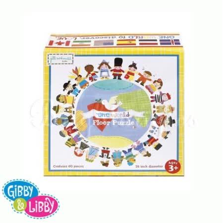 【真心勸敗】gohappy快樂購物網gibby&libby三歲拼圖 世界人物地板拼圖開箱台中 愛 買 吉安