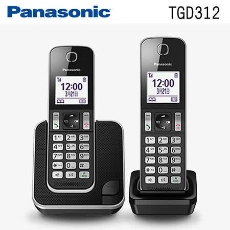 國際牌Panasonic KX-TGD312TW /KX-TGD312 DECT數位無線電話