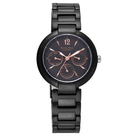 Roven Dino羅梵迪諾   甜美約定時尚女錶-黑