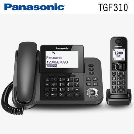 國際牌Panasonic KX-TGF310TW(TGF310) DECT數位無線電話【子母雙機】