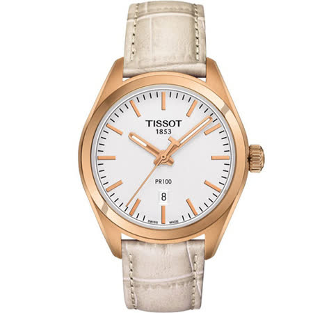 天梭 TISSOT PR-100 純淨物語時尚運動腕錶 T1012103603100