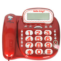 HELLO KITTY 超大字鍵 來電顯示電話機 KT-229T