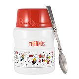 【THERMOS 膳魔師】Hello Kitty 不鏽鋼真空保溫食物罐 0.47L