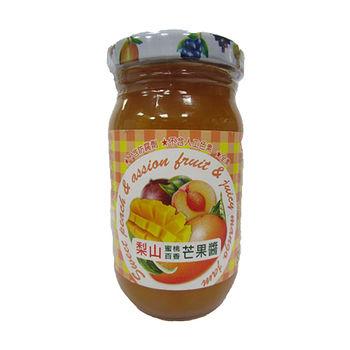 梨山牌蜜桃百香芒果醬260g