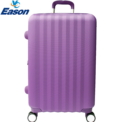 【YC Eas遠 百 週年 慶 時間on】尊爵頂級24吋ABS硬殼行李箱(紫)