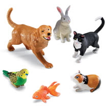【美國教學資源】超大家庭寵物(6入) LER0688