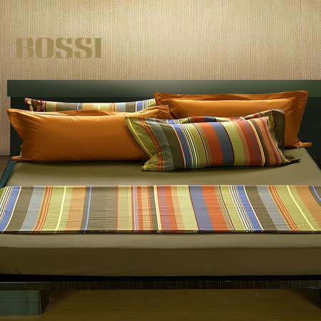 【柔得寢飾】BOSSI 色織緹花單人三件式床包組 BJ703