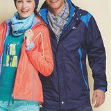KAPPA AEROTEC防水透濕長版休閒外套-兩件式 可拆帽(丈青/黑兩款)